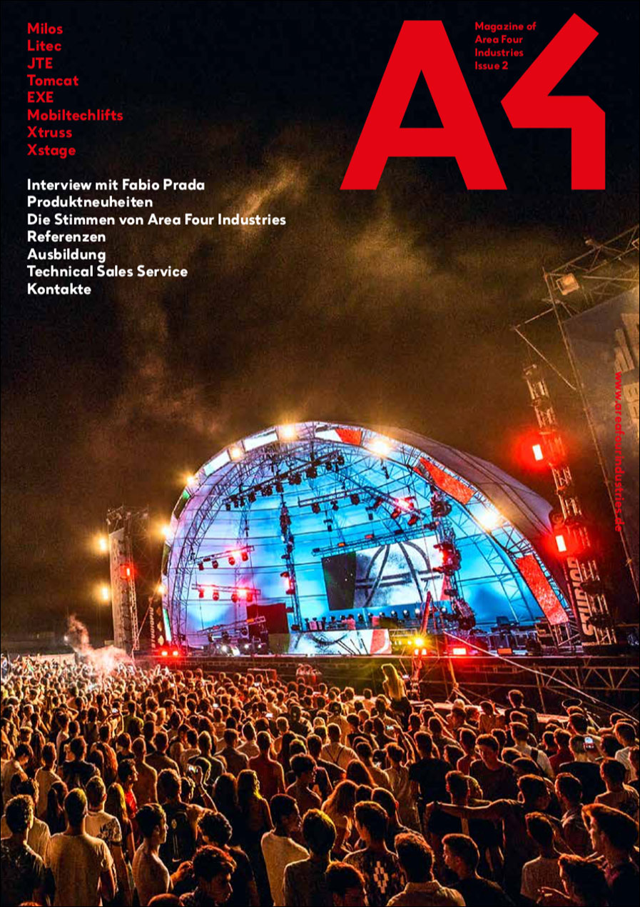 Das A4 Magazin von Area Four Industries