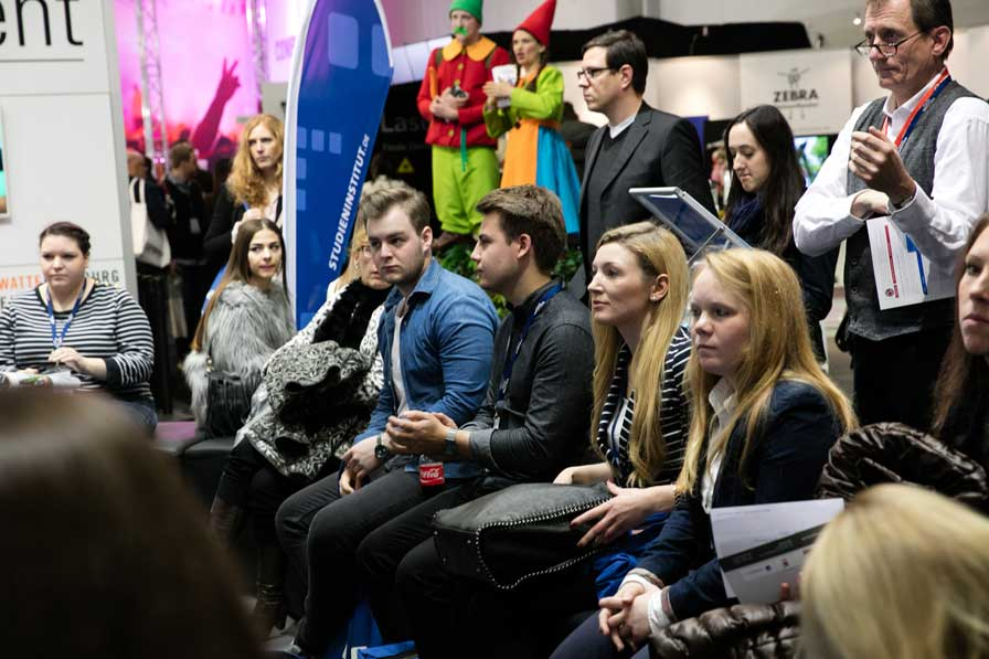 Volles Haus: CAREER HUB auf der BEST OF EVENTS (Foto: Isabella Thiel)