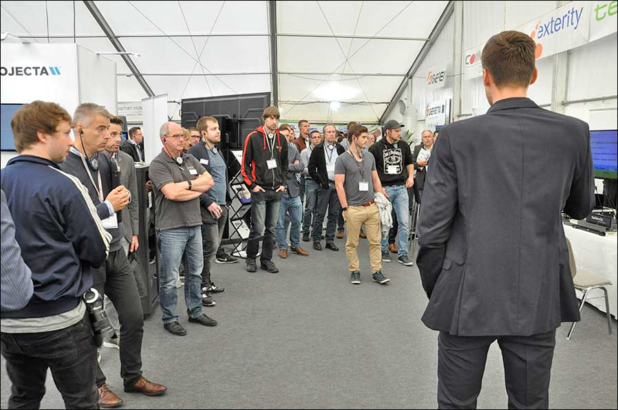 S14 Solutions Day bei COMM-TEC