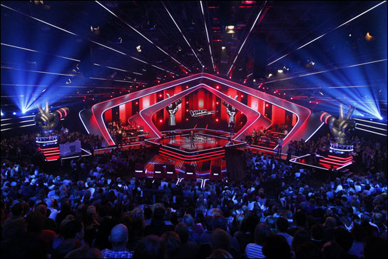 """The Voice of Germany"" mit ROBE auf www.DieReferenz.de"