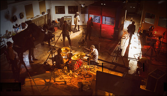 Session in den Abbey Road Studios
