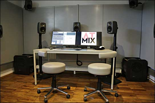 ATMIX 3D Audio Lab bei MisterMaster